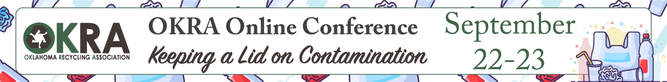Conference theme - keeping a lid on contamination